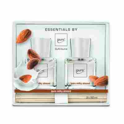 Raumduft 'Essentials milky almond' 50 ml, 2er Set