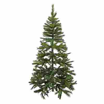 Künstlicher Tannenbaum grün 210 cm, mit LED-Beleuchtung