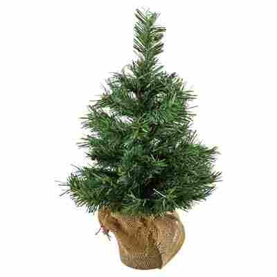Künstlicher Mini-Tannenbaum grün 45 cm