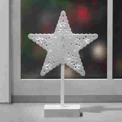 LED-Deko-Stern warmweiß, 39 cm