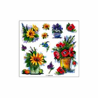 Blumen-Sticker 2 Bogen