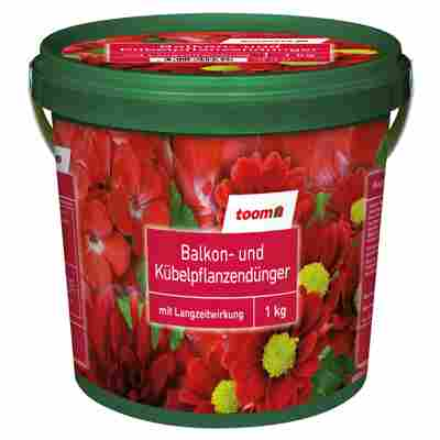 Langzeitdünger für Balkon- und Kübelpflanzen 1kg