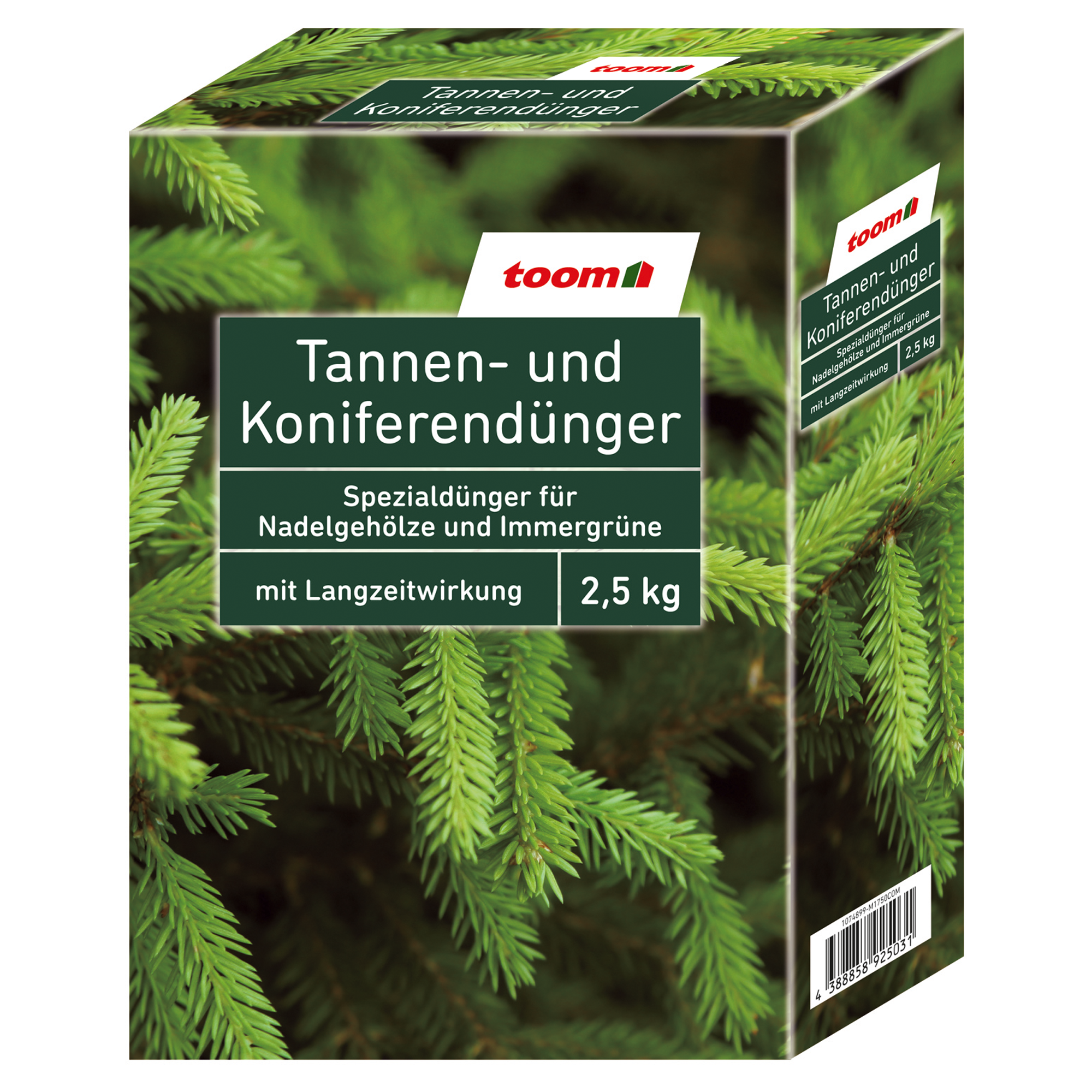 8x Tannen Dünger 2,5kg 1,92€//KG Nadelgehölze Koniferen Dünger