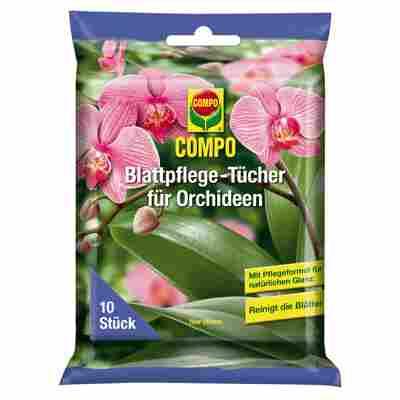 Blattpflegetücher für Orchideen 10 Stück
