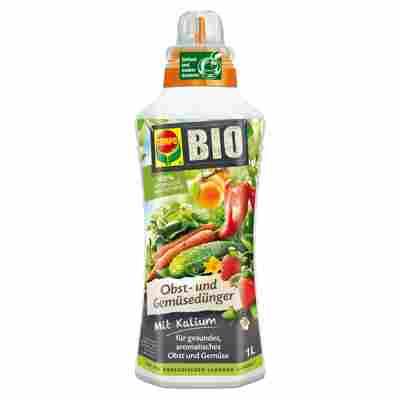 Bio-Dünger für Obst und Gemüsepflanzen 1 l