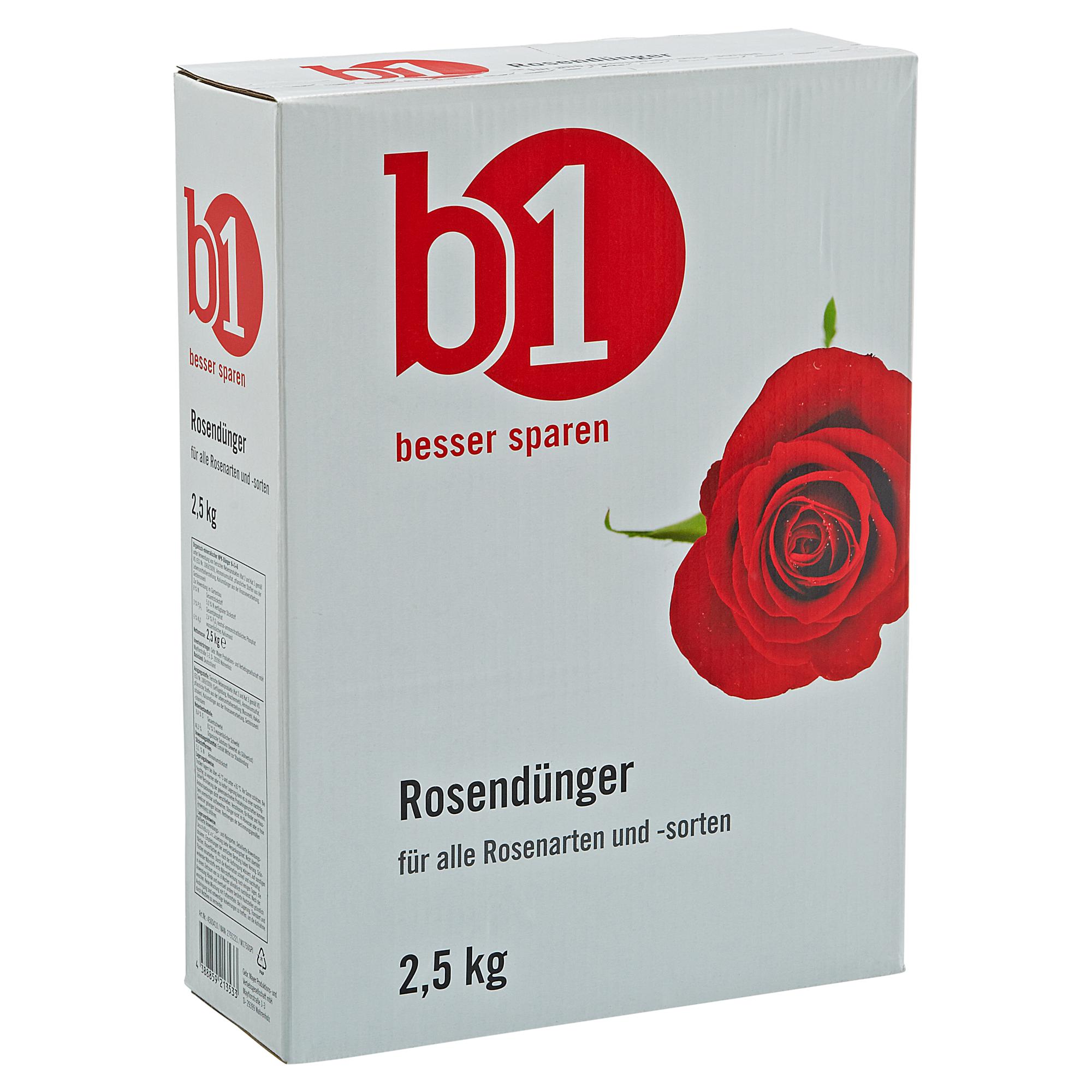 B1 Rosendünger 2,5 kg