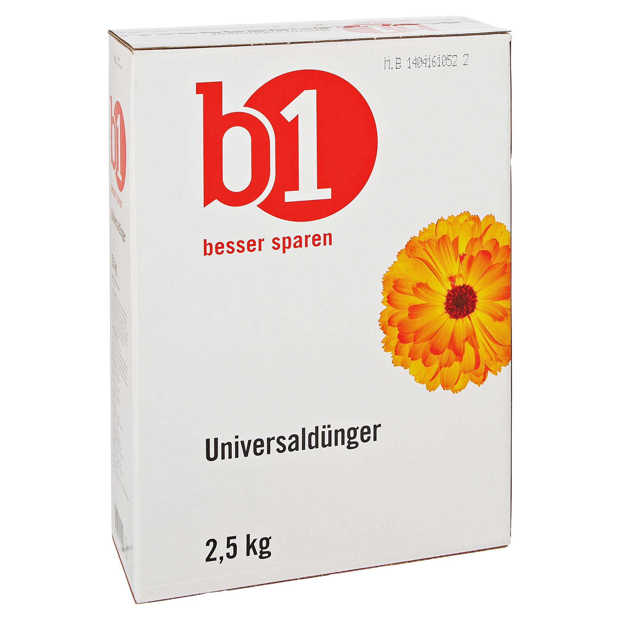 B1 Universaldünger 2,5 kg