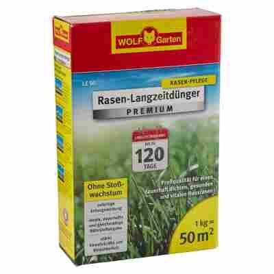 Rasen-Langzeitdünger Premium 50 m² 1 kg