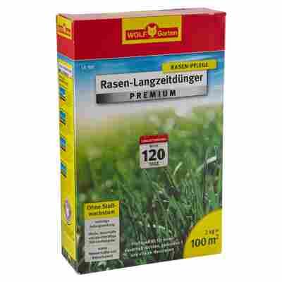 Rasen-Langzeitdünger Premium 100 m² 2 kg