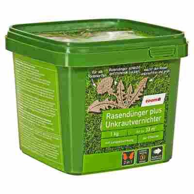 Rasendünger plus Unkrautvernichter 1 kg