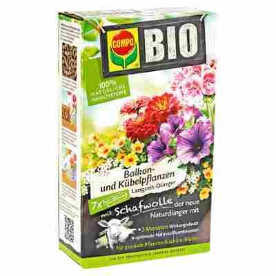 Bio-Langzeitdünger für Balkon- und Kübelpflanzen 750 g