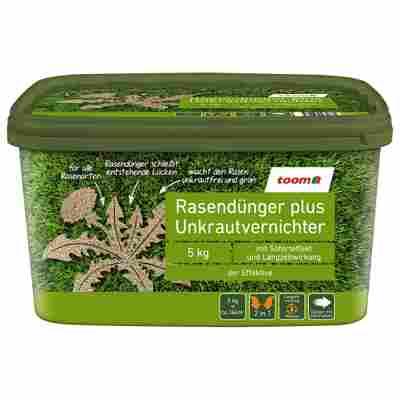 Rasendünger plus Unkrautvernichter 5 kg für 166 m²