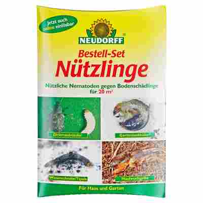 Bestell-Set Nützlinge gegen Schadinsekten für bis zu 20 m²