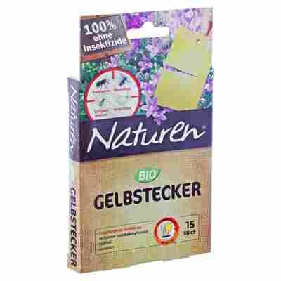 Bio Gelbstecker, 15 Stück