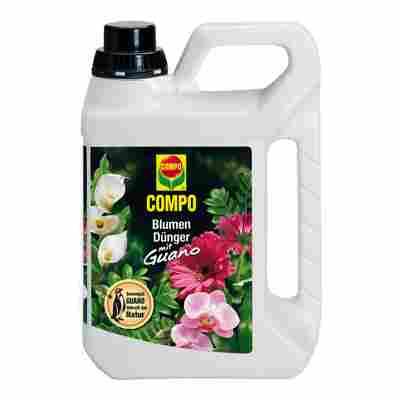 Blumendünger mit Guano 2,5 l