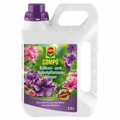 Dünger für Balkon- und Kübelpflanzen 2,5 l