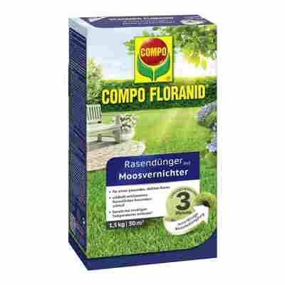 Floranid Rasendünger mit Moosvernichter 1,5 kg
