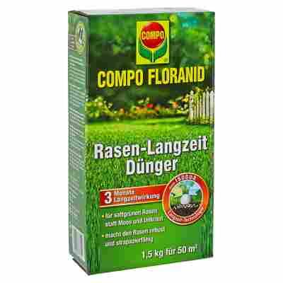 Rasen-Langzeitdünger 'Compo Floranid' 1,5 kg