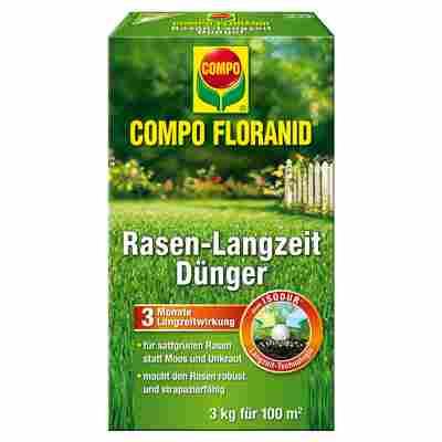 Rasen-Langzeitdünger 'Compo Floranid' 3 kg