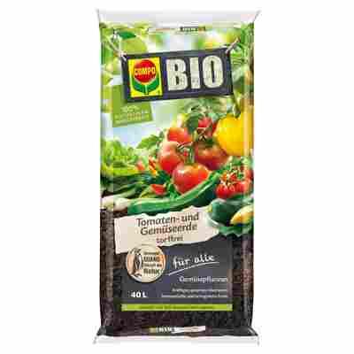 Bio-Tomaten- und Gemüseerde 40 l