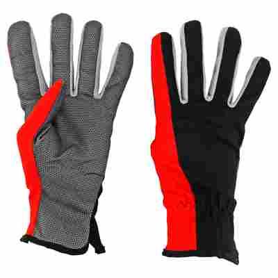 Universalhandschuh schwarz/rot Gr. 9