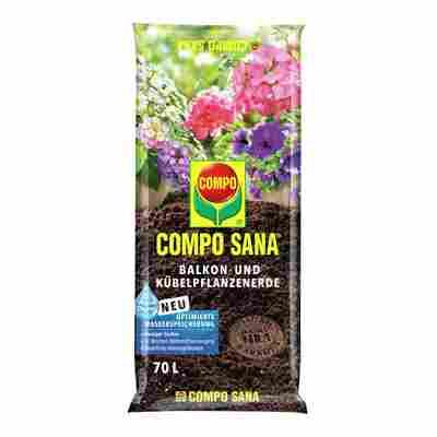 Compo Sana® Balkon- und Kübelpflanzenerde 70 l