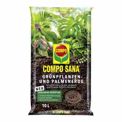 Compo Sana® Grünpflanzen- und Palmenerde 10 l