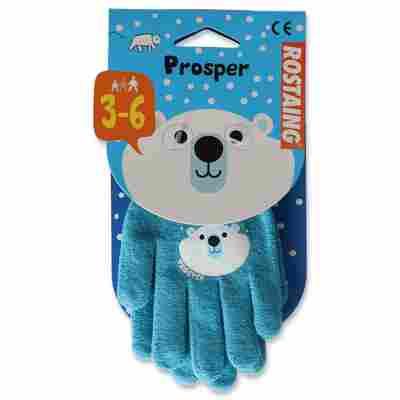 Kinder-Gartenhandschuh 'Prosper' blau