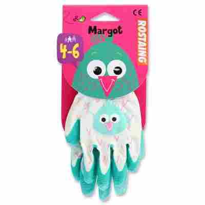 Kinder-Gartenhandschuh 'Margot' türkis