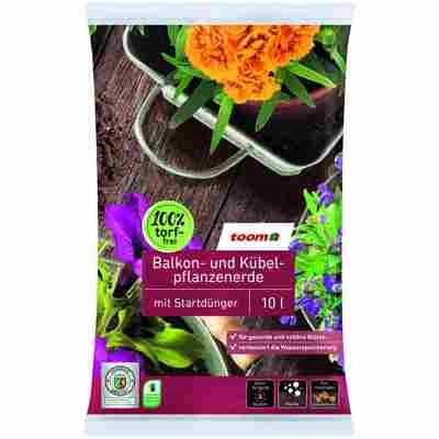 Balkon- und Kübelpflanzenerde 10 l