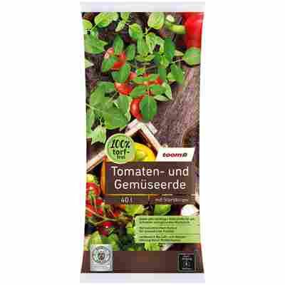 Tomaten- und Gemüseerde, torffrei, 40 l