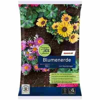 Blumenerde torfreduziert 10 l