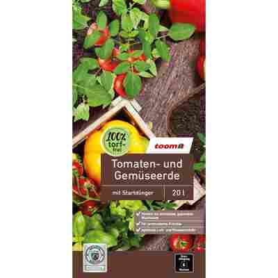 Tomaten- und Gemüseerde torffrei 20 l