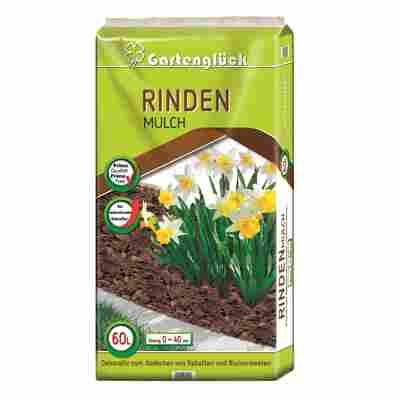 Rindenmulch 'Gartenglück' 60 ltr. 0-40 mm