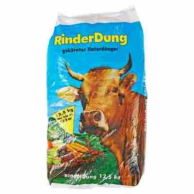 Gekörnter Rinderdung 12,5 kg