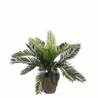 Kunstpflanze Cycas Palme im Topf 33 x 34 cm
