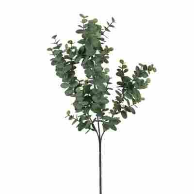 Kunstblume Eukalyptus-Zweig grün 65 cm