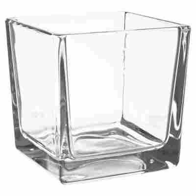 """Windlicht """"Eckard"""" Glas transparent 8 x 8 cm"""