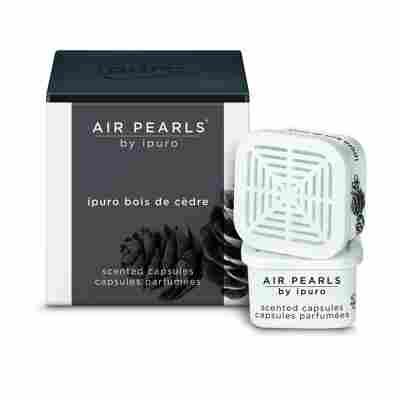 Duftkapseln 'Air Pearls bois de cèdre' 2er Set