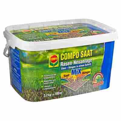 Rasen-Neuanlage 'Compo Saat' Saat/Dünger 2,2 kg