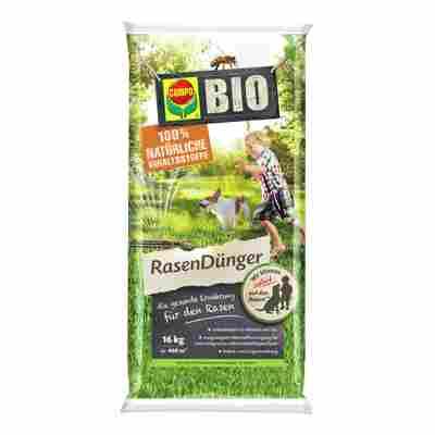 Bio Rasendünger 16 kg für ca. 400 m²