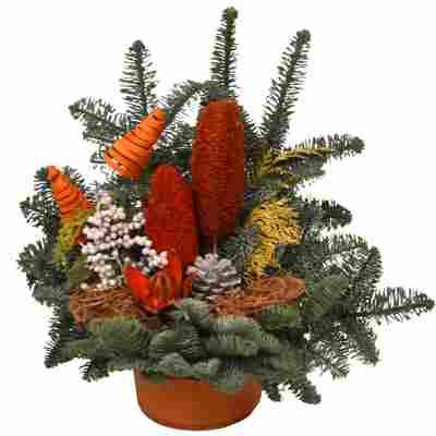 Grabschale orange 40 x 30 cm