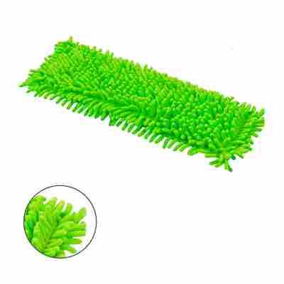 Ersatzbezug 'Chenille' grün für Bodenwischer, 2 Stück