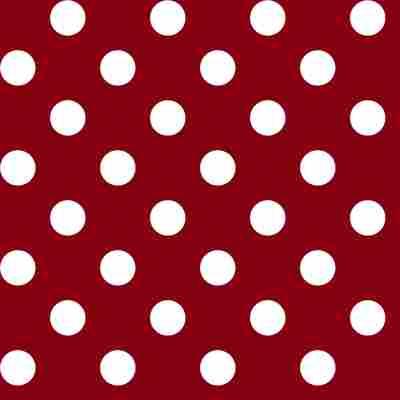 Wachstuch-Tischdecke 'Manhattan' venita-rot, Breite 140 cm