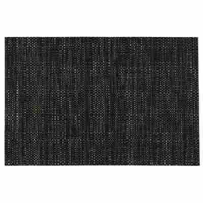 Platzdecke 'Catania' struktura-schwarz 45 x 30 cm