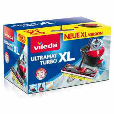 Bodenwischer-Set 'UltraMat XL Turbo' Microfaser 2in1