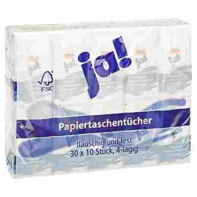 Papiertaschentücher 4-lagig 30 x 10 Stück