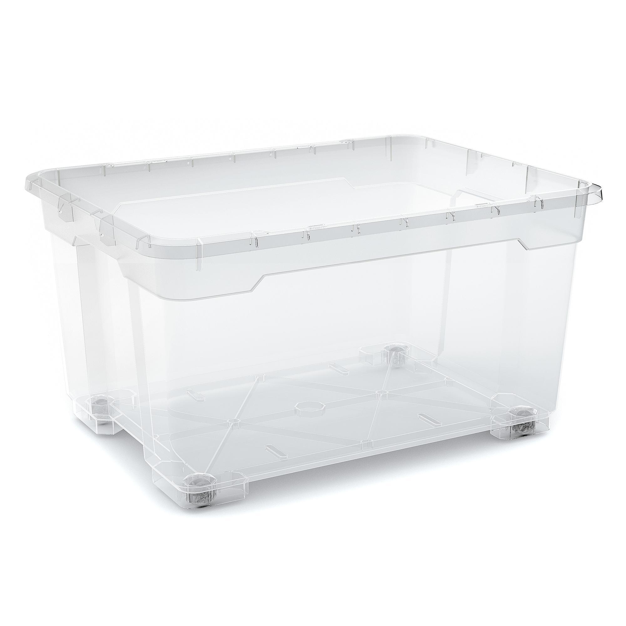 aufbewahrungsbox r box oversize transparent toom baumarkt. Black Bedroom Furniture Sets. Home Design Ideas