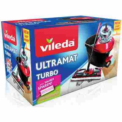 Bodenwischer-Set 'UltraMat Turbo' mit Ersatzbezug Sensitive