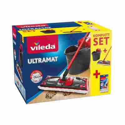 Bodenwischer-Set 'UltraMat' 2in1 mit Ersatzbezug